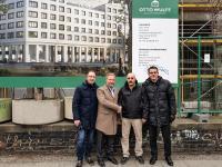 v. l. n. r. : Ingo Klettke, Aleksej Leunov, Malik Kücük, Robert Schmidt / Bildquelle: Gold Inn Hotels