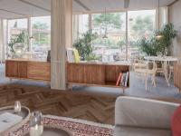 Neue Zimmer und Lobby für das Hotel Schwarzschmied
