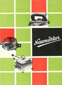 Neumärker Katalog 50er Jahre