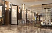 Die Lobby im neuen InterContinental Berlin