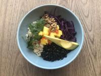 Die vegane Creole Bowl.