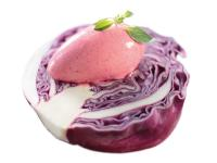Pacojet Rezept: Gemüse-Frucht-Kombination: Rotkraut-Maracuja-Sorbet