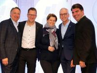Der HDV-Vorstand: (v.l.): Jürgen Gangl, 1. Vorsitzender, David Depenau, 2. Vorsitzender, Ira Klusman, Beisitzerin, Bernhard Langemeyer, Beisitzer, Oliver Mathée, Schatzmeister.