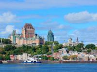 Quebec, herstammend von den Algonkin (Stamm nordamerikanischer Ureinwohner, ) für Kebec = wo der Fluss enger wird, ist die flächenmäßig größte Provinz Kanadas und mit dem größten frankophonen Bevölkerungsanteil