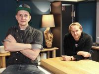 Christopher Leichsenring (Küchenchef Meinsbur) und Niels Battenfeld (Inhaber Lieblingsplatz Hotels & Restaurants) / Bildquelle: Lieblingsplatz Hotels & Restaurants