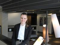 Melanie Simone Seiler, neuer Front Office Manager im Le Méridien Frankfurt (Foto: Hotel)