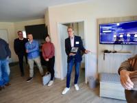 Christian Heineck (Betterspace) präsentiert digitale Lösungen im Hotelzimmer