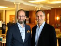 Alexander Winter und Rupert Simoner / Bildquelle: Vienna International Hotelmanagement AG