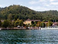 Die Villa Linde war in den 50er Jahren eines der renommiertesten Hotels am Bodensee. / Bildquelle: Seehotel Villa Linde