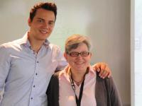 Wolf-Thomas Karl und Brita Moosmann, Gründer Green Tourism Camp / Bildquelle: Beide l&t communications