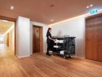 Tantum 9 - Auf Etage-Referenz Waldvogel: Der Tantum 9 auf der Etage des Referenzkunden Hotel Waldvogel