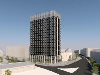 GHOTEL hotel & living Märkische Straße / Büro Geddert,Entwurfsverfasser der Fassade