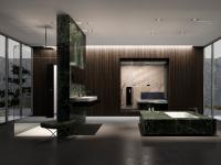 Zur Inspiration: Badezimmer à la Mies van der Rohe