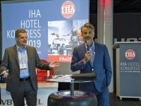 Markus Luthe (IHA-Hauptgeschäftsführer) und Otto Lindner (IHA-Vorsitzender) stehen Rede und Antwort / © Foto: IHA/Hardy Mutschler