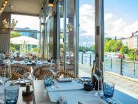 AMERON Berlin ABION Spreebogen Waterside Restaurant Carl & Sophie Interior / Bildquelle: Beide © Marvin Pelny