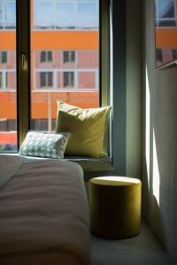 Detailausschnitt Musterzimmer  gambino hotel Werksviertel