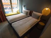 Musterzimmer gambino hotel Werksviertel / Bildquelle: Beide © gambino hotels