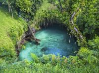 Samoa - Upolu to Sua Ocean Trench Background / Fotoquelle: Beide ©Turama Pacific Group, Samoa Tourism Authority