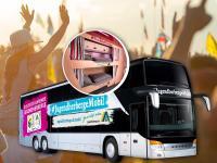 Die erste fahrende Jugendherberge der Welt wird auf dem SonneMondSterne Festival Station machen / Bildquelle: Deutsches Jugendherbergswerk