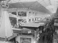 Wichtige Aussteller der Süßwarenbranche stellen auf der Anuga 1957 in Halle III aus / Bildquelle: Alle Koelnmesse GmbH