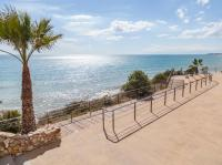 Das Mittelmeer vom Ausblick in Roda de Bera, Costa Dorada, Katalonien, Spanien
