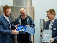 Die Auszeichnung als Top Colged Fachhändler 2018 erhielt Jörg Dupp von der gleichnamigen Jörg Dupp GmbH. Das Unternehmen bietet einen allumfassenden Service vom Verkauf bis zu Reparatur- und Wartungsleistungen. / Bildquelle: Colged Deutschland - Eurotec Srl