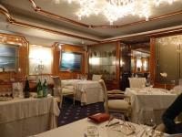Spitzen-Polstermöbel im Sterne-Restaurant des Badhotel Sternhagen/Nordsee