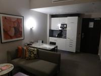 Pantry im Hotelzimmer für Longstay