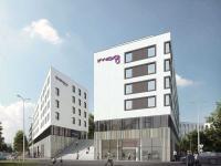 Residence Inn und Moxy im Münchner Werksviertel / Bildquelle: © Rhode & Schwarz