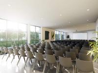 Rendering Meetingräume angrenzend am Auditorium