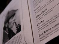 Café Sherlock in Hillesheim: Speisekarte