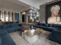 Empfangsbereich im Boutique Hotel Luc / Bildquelle: Rosenberg Architekten