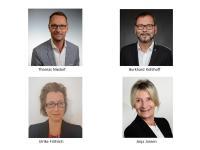 Thomas Nixdorf, Burkhard Kohlhoff, Ulrike Fröhlich und Anja Jansen (v.l.n.r.) / Bildquelle: Steigenberger Hotels AG
