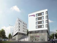 Moxy Residence Inn Munich Ostbahnhof / Bildcredit Rohde & Schwarz