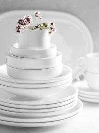 Shiro Tisch Gruppenfoto Stapel Weiss Blüten