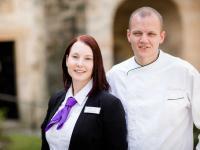Stefanie und Tobias Dittrich, Inhaber Schloss Hohenstein / Bildquelle: © Hotel Schloss Hohenstein