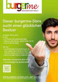 burgerme PreviewStore-Poster / Bildquelle: burgerme