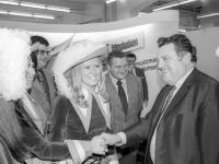 Franz Josef Strauß besucht ISM 1972