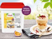 frischli Kefir-Dessert Maracuja / Bildquelle: Beide frischli Milchwerke GmbH