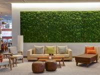 Wie zuhause: Die Lobby im Intercity Frankfurt; Bildquelle Deutsche Hospitality