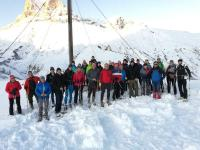 Hoteliers beim Schneeschuhwandern / Biildquelle: © Wanderhotels