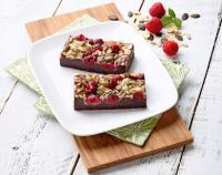 Glutenfreier Himbeer-Brownie von erlenbacher