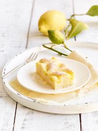 Die vegane Zitronen-Schnitte; Fotos: erlenbacher