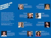 Die HoReCa-Academy feiert mit einer Starbesetzung aus dreizehn Hospitality-Experten ihre Premiere / Bildquelle: Messe Frankfurt