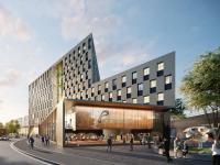 prizeotel Bochum-City Visualisierung / Bildquelle: obs/prizeotel/ZHAC Zweering Helmus Architektur