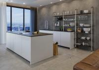 Versatile ist ein innovatives Möbel-System von Häfele das mit dem Bedarf, mit der Anwendung, dem Lebensalter und den Trends wächst und sich individuellen Kundenwünschen problemlos anpasst. Auch in der Küche macht es eine gute Figur und sorgt für zusätzlichen perfekt organisierten Stauraum