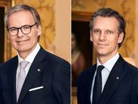 links: Frank Marrenbach; rechts: Dr. Timo Grünert  / Bildquelle: Oetker Collection