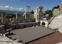 Die Stadt Plovdiv in Zentral-Bulgarien mit dem wunderschönen antiken Theater aus der Römerzeit; Bildquelle Hotelier.de