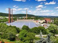 Draufsicht Porzellanwerk/ Photovoltaikanlage / Bildquelle: Alle KAHLA/Thüringen Porzellan GmbH