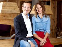 Marc Vollbracht mit seiner Frau Sandra